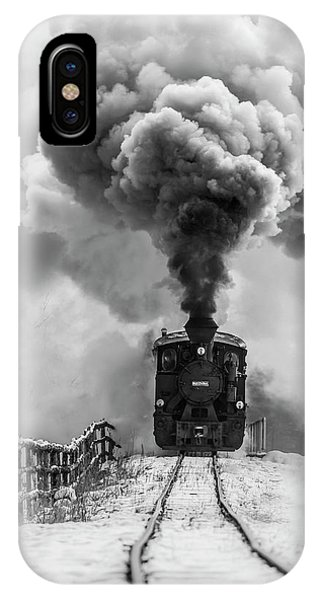 Train Tracks iPhone Case - Old Train by Sveduneac Dorin Lucian
