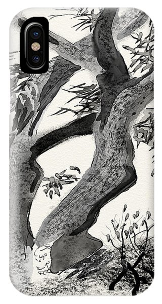 Old Tree Phone Case by Brett Shand