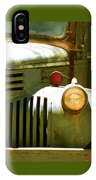Old Truck Abstract IPhone Case