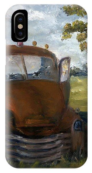 Old Truck Shreveport Louisiana Wrecker IPhone Case