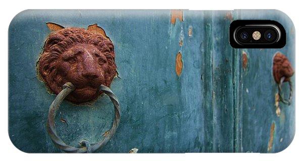 Old Venetian Door Knocker IPhone Case
