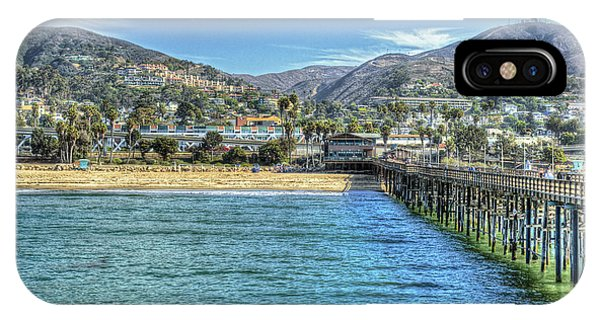 Old Ventura City From The Pier IPhone Case