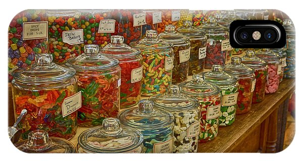 Old Village Mercantile Caledonia Mo Candy Jars Dsc04014 IPhone Case