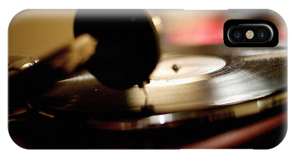 Timeworn iPhone Case - Old Vinyl Lp Playing by Evgeny Govorov