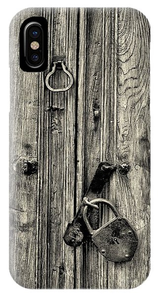 Old Weathered Door IPhone Case