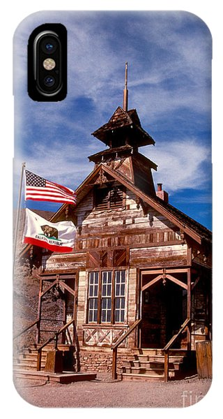 Old West School Days IPhone Case