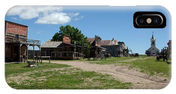 Old West Town IPhone Case