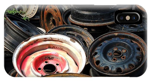 Old Wheels IPhone Case