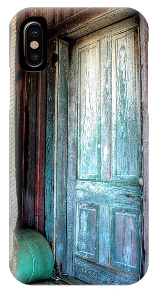 Old Wooden Door IPhone Case