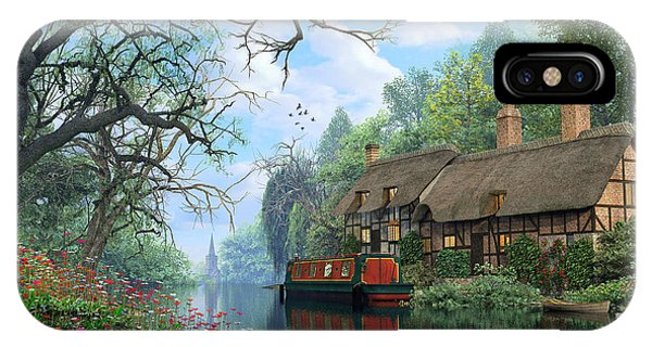 Old Woodland Canal IPhone Case