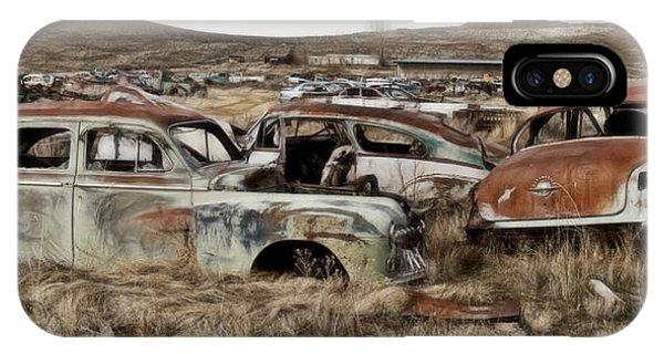 Old Wrecks IPhone Case