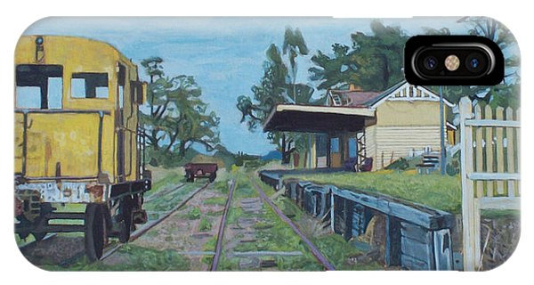 Old Yarra Glen Railway Station Phone Case by Bert Ernie