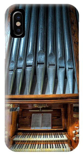 Organ iPhone Case - Olde Church Organ by Adrian Evans