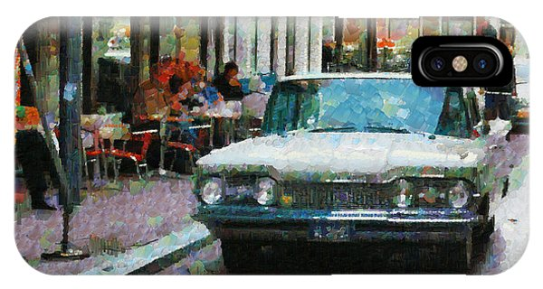Oldsmobile In Amsterdam IPhone Case