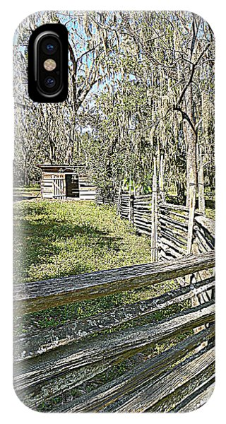 Ole Horse Barn IPhone Case