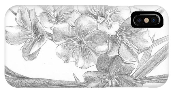 Oleander IPhone Case