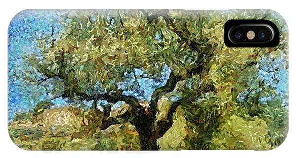 Olive Tree On Van Gogh Manner IPhone Case