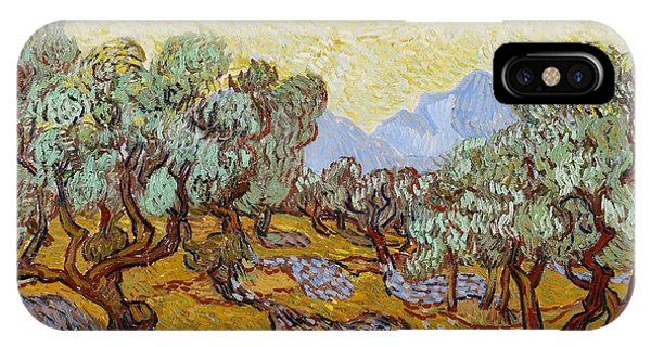 Sunny iPhone Case - Olive Trees by Vincent Van Gogh