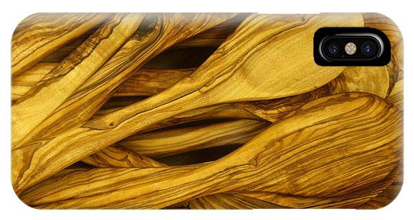 Olive Wood IPhone Case