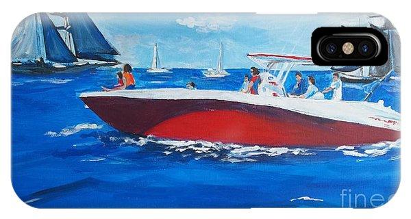 Oliver's Flotilla IPhone Case