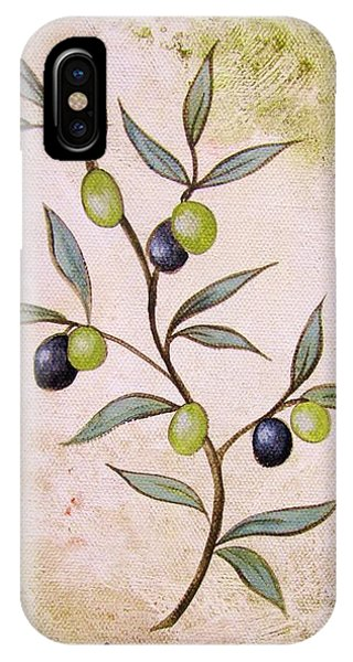 Olives Painting IPhone Case