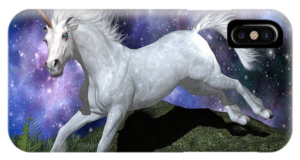 Olivia's Unicorn Phone Case by Stephen McKim