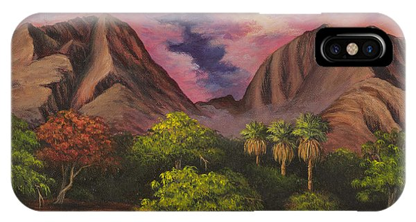 Olowalu Valley IPhone Case