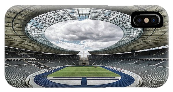 Berlin iPhone Case - Olympiastadion, Berlin. by Massimo Cuomo