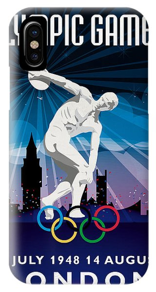 Olympic Games London 1948 New Style IPhone Case