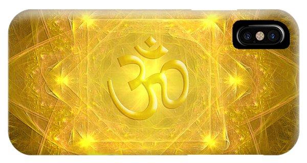 Om Mandala IPhone Case