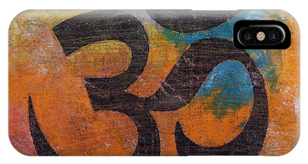 Buddhism iPhone Case - Om by Michael Creese
