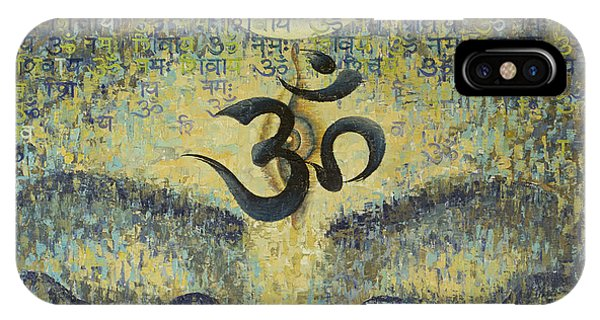 Eyes iPhone Case - OM by Vrindavan Das