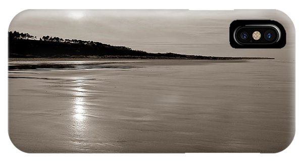 Normandy iPhone Case - Omaha Beach by Olivier Le Queinec