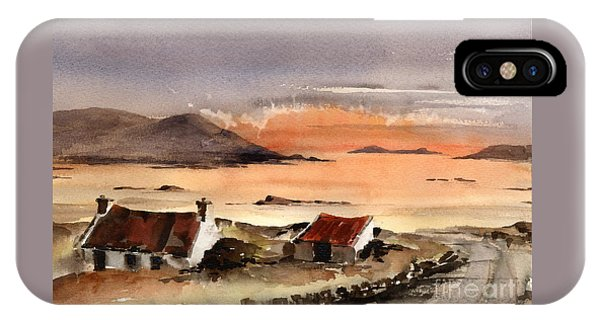 Omey Island Sunset Galway IPhone Case