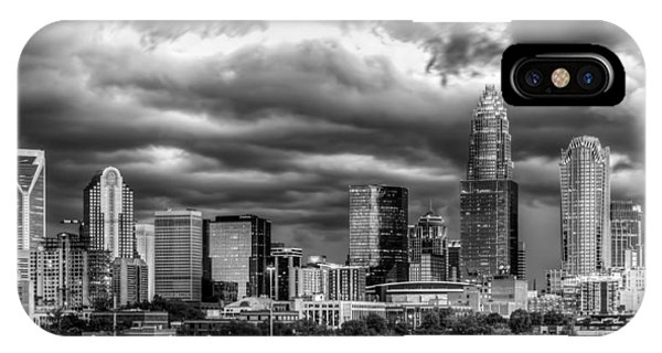 Nc iPhone Case - Ominous Charlotte Sky by Chris Austin