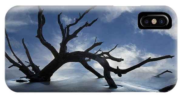 Fog iPhone Case - On A Misty Morning by Debra and Dave Vanderlaan