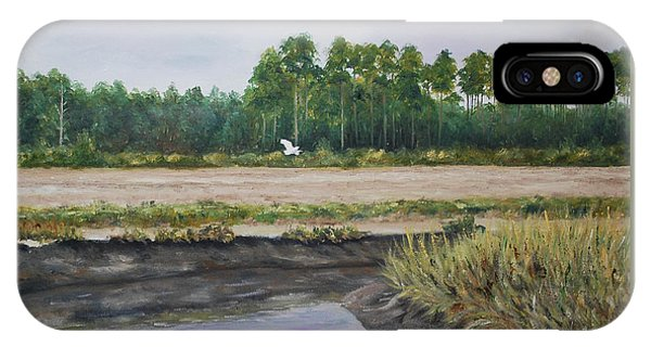 On A Tidal Creek IPhone Case