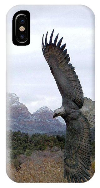 On Eagles Wings IPhone Case
