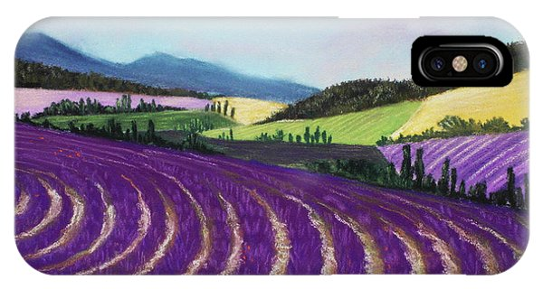 On Lavender Trail IPhone Case