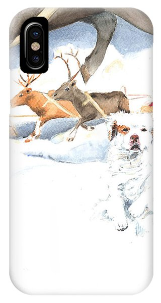 On Our Way Phone Case by Jan Irving
