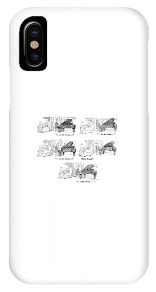 Repeat iPhone Case - ...on The Avenue... ...on The Avenue... ...on by Bill Woodman