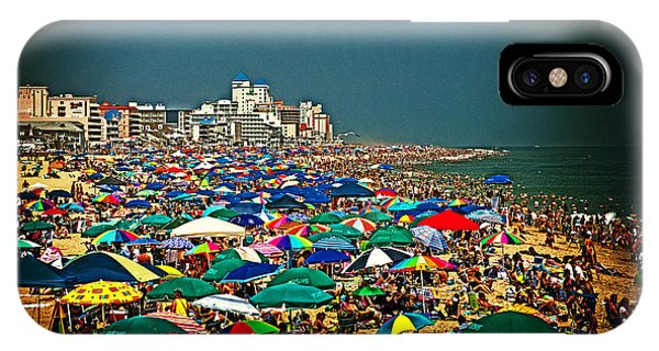 On The Beach In August IPhone Case