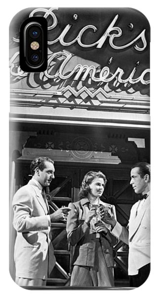 On The Casablanca Set IPhone Case