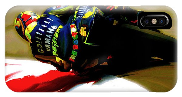 On The Edge Vi Valentino Rossi IPhone Case