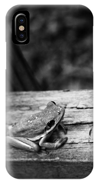 IPhone Case featuring the photograph On The Fence by Ben Shields