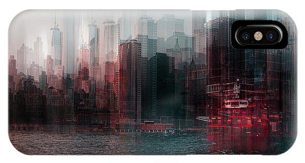 People iPhone Case - On The Hudson River by Carmine Chiriac??