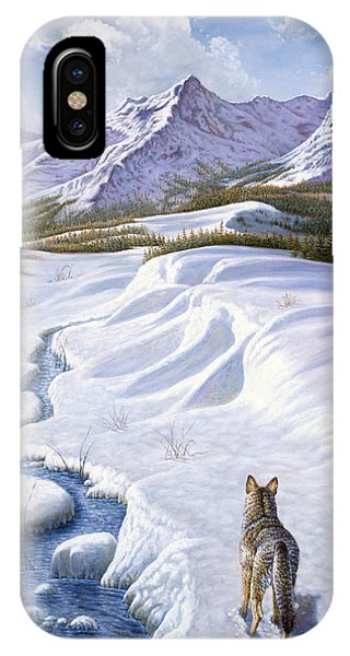 Winter iPhone Case - On The Move by Gregory Perillo