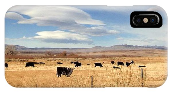 On The Open Lands IPhone Case