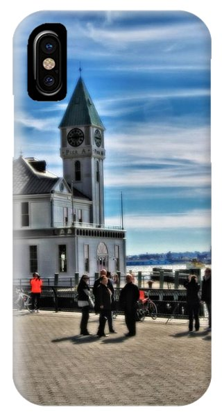 Battery D iPhone Case - On The Pier In New York City by Dan Sproul