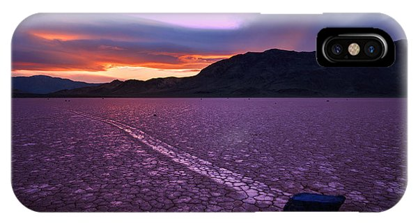 Death Valley iPhone Case - On The Playa by Chad Dutson